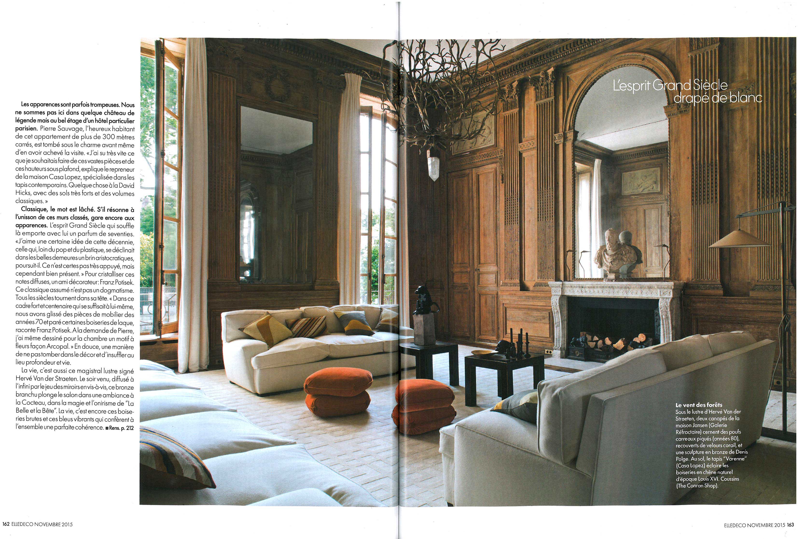 Elle Decoration Novembre 2015